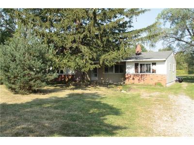 Chardon Single Family Home For Sale: 14448 Rock Creek Rd