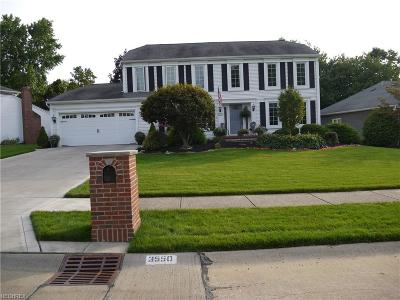Rocky River Single Family Home For Sale: 3550 Bradsford Gate Rd