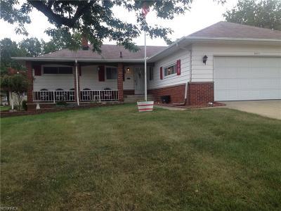 Parma Single Family Home For Sale: 2871 Bonny Blvd