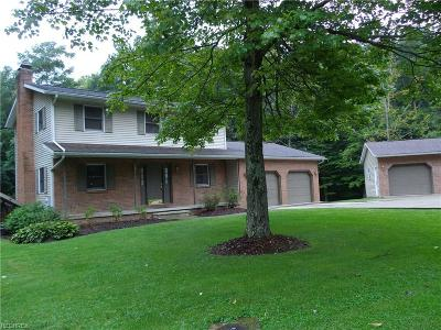Zanesville Single Family Home For Sale: 5115 Tiffany Dr