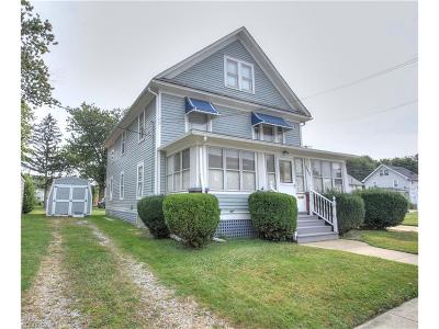 Fairport Harbor Multi Family Home For Sale: 534 Eagle St