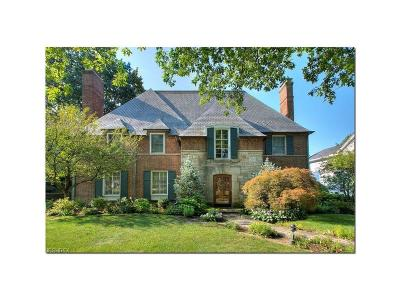 Shaker Heights Single Family Home For Sale: 20850 West Byron Rd
