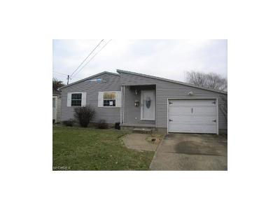 Belpre Single Family Home For Sale: 812 Moore Ave