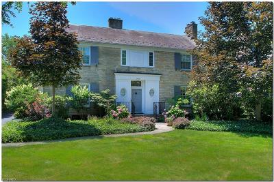 Shaker Heights Single Family Home For Sale: 20950 Colby Rd