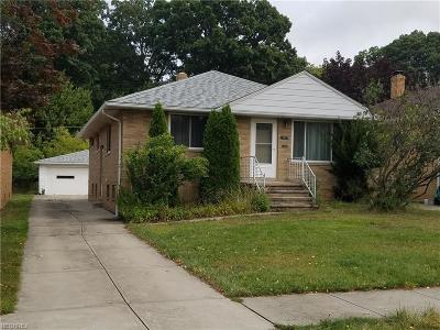 Parma Single Family Home For Sale: 2802 Norris Ave