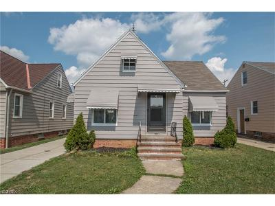 Parma Single Family Home For Sale: 6402 Snow Rd