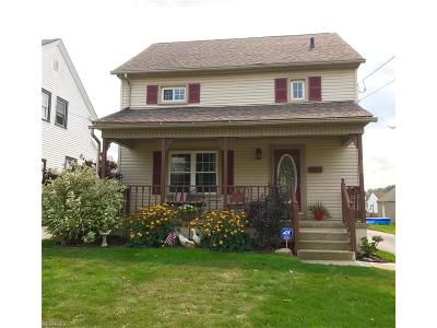 Struthers Single Family Home For Sale: 406 West Wilson St