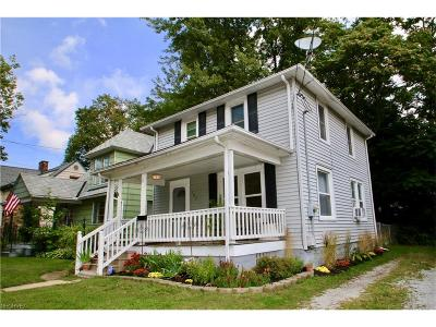 Painesville Single Family Home For Sale: 187 Liberty St