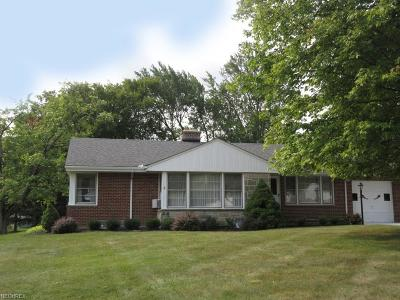 Broadview Heights Single Family Home For Sale: 1196 East Wallings Rd