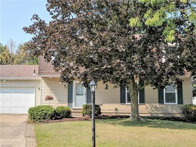 Strongsville OH Single Family Home For Sale: $209,590