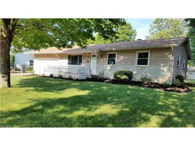 Boardman Single Family Home For Sale: 4014 Shelbourne Dr
