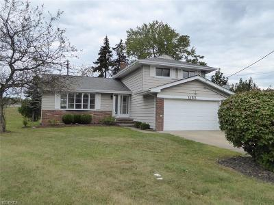 Mayfield Heights Single Family Home For Sale: 1155 Bonnie Pl