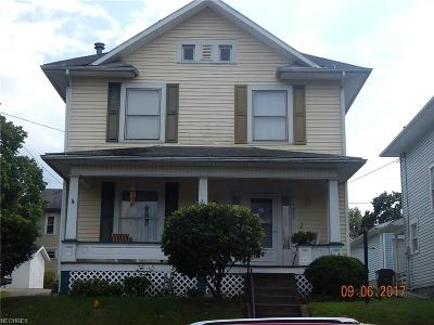 Guernsey County Single Family Home For Sale: 1222 Stewart Ave
