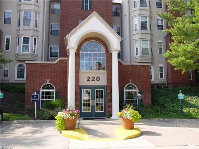 Mayfield Heights Condo/Townhouse For Sale: 220 Fox Hollow Dr #111