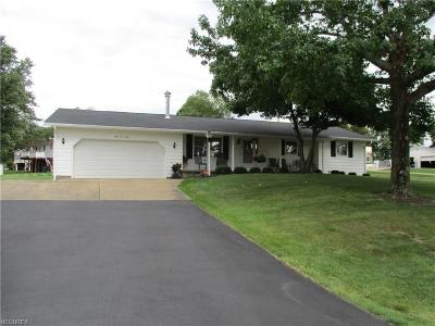 Muskingum County Single Family Home For Sale: 5130 Northcrest Dr