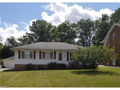 Parma Single Family Home For Sale: 1915 Lorimer Rd