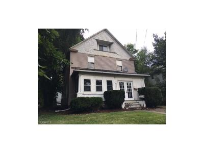 Alliance OH Single Family Home Sold: $5,500