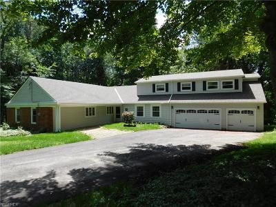 Chagrin Falls Single Family Home For Sale: 7687 Country Ln