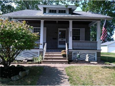 Elyria Single Family Home For Sale: 255 Warren Ave