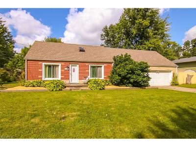 North Ridgeville Single Family Home For Sale: 5380 Pleasant St