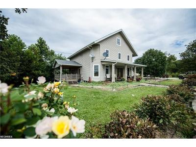 Single Family Home For Sale: 9905 Claysville Rd