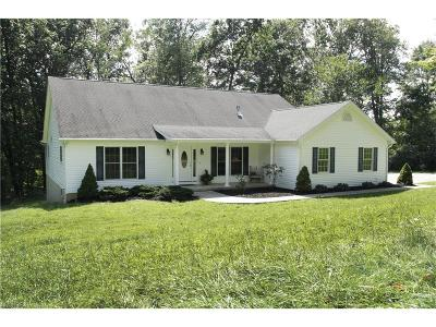 Muskingum County Single Family Home For Sale: 3940 Dori Ln