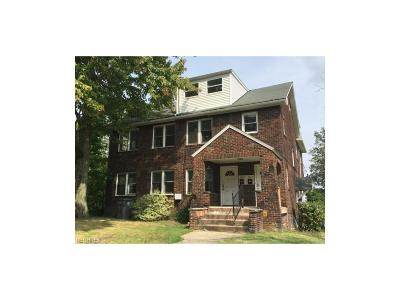 Youngstown Multi Family Home For Sale: 2227 Cordova Ave