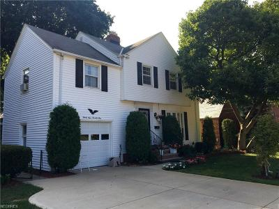 Fairview Park Single Family Home For Sale: 3971 Wooster Rd