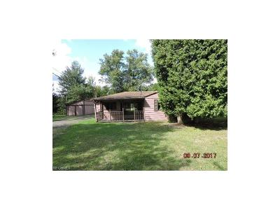 Hubbard OH Single Family Home For Sale: $59,900