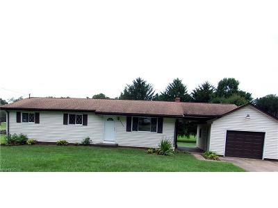 Muskingum County Single Family Home For Sale: 2865 Pioneer Cir