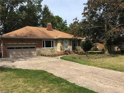 Fairview Park Single Family Home For Sale: 21790 Mastick Rd