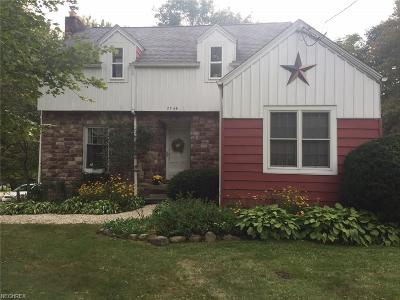 Kent Single Family Home For Sale: 7749 State Route 43