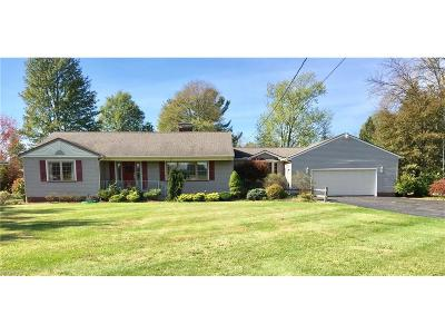 Canfield Single Family Home For Sale: 3530 South Canfield Niles Rd South