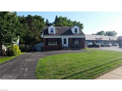 North Olmsted Single Family Home For Sale: 25133 Lorain Rd