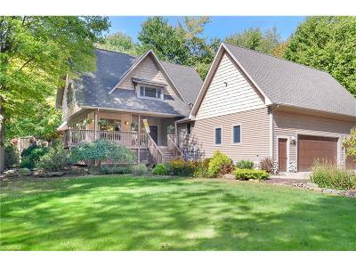 Chagrin Falls Single Family Home For Sale: 8370 Yorkshire Dr