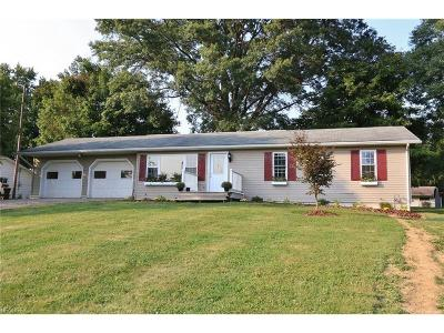 Muskingum County Single Family Home For Sale: 3195 Gorsuch Rd