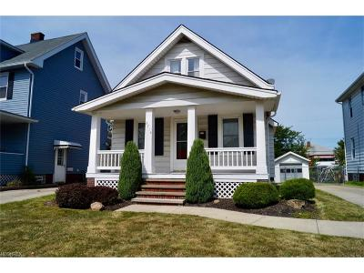 Parma Single Family Home For Sale: 3714 Pershing Ave