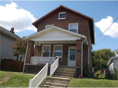 Zanesville OH Single Family Home For Sale: $59,900