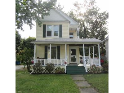 Painesville OH Single Family Home For Sale: $99,000
