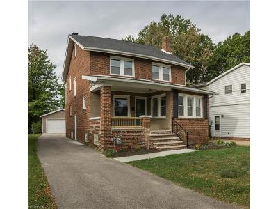 Wickliffe Single Family Home For Sale: 1720 East 298th St