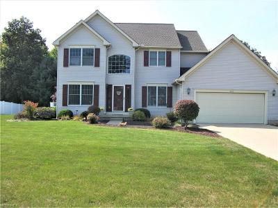 Avon Single Family Home For Sale: 3252 Waterford Way