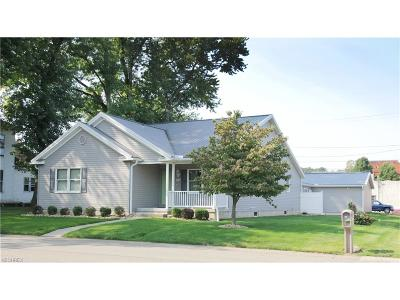 Muskingum County Single Family Home For Sale: 807 High St