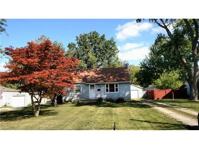 Elyria Single Family Home For Sale: 414 Hilliard Rd