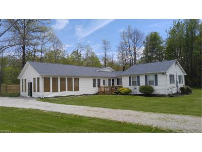 Saybrook Single Family Home For Sale: 6940 Lake Rd West