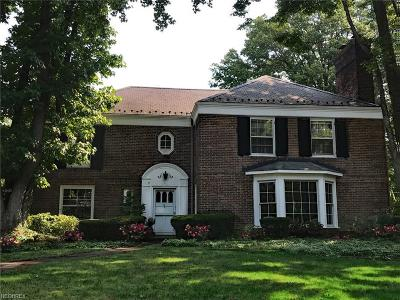 Shaker Heights Single Family Home For Sale: 2681 Ashley Rd