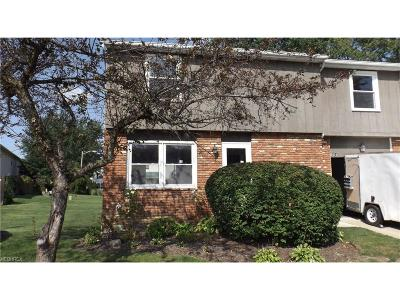 Mentor Condo/Townhouse For Sale: 6804 Kirkwood Dr