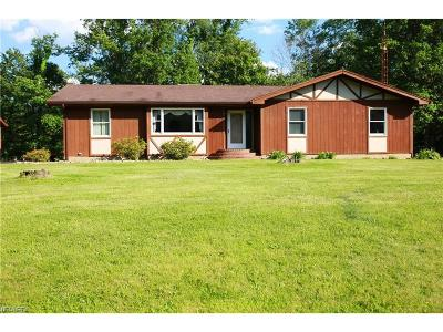 Guernsey County Single Family Home For Sale: 3965 Holmes Rd
