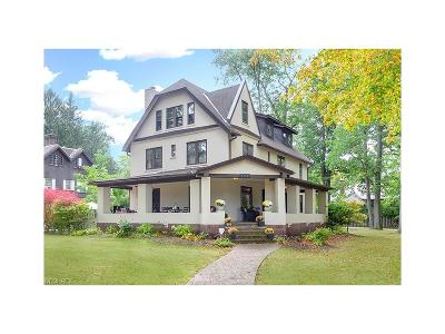 Cleveland Heights Single Family Home For Sale: 2248 Stillman Rd