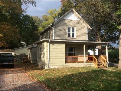 Mantua Single Family Home For Sale: 4699 East Prospect St
