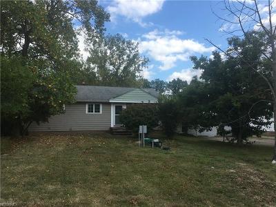 North Royalton Single Family Home For Sale: 15665 Bennett Rd